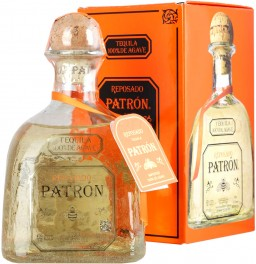 "Текила ""Patron"" Reposado, gift box, 375 мл"