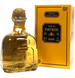 "Текила ""Patron"" Anejo, metal box, 0.75 л"