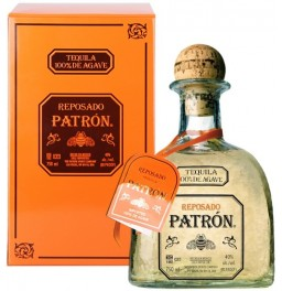 "Текила ""Patron"" Reposado, metal box, 0.75 л"