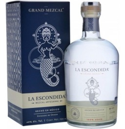 "Мескаль Grand Mezcal, ""La Escondida"", gift box, 0.7 л"